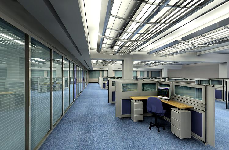 保险公司大厅装修效果图 唯美图片装修效果图